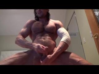 Veiny Muscle God Muscle Flex, JO  Cums!