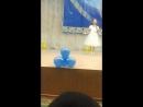Алуаның Нұрлы жастар байқауында мәнерлеп тақпақ айтуы
