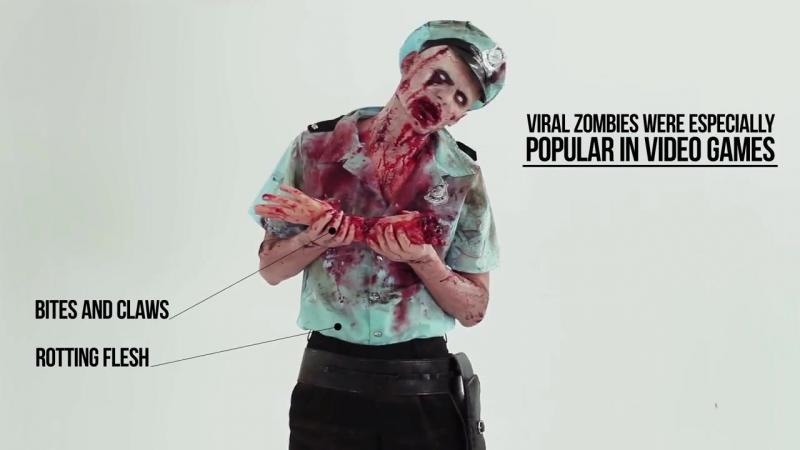 эвалюция зомбиков