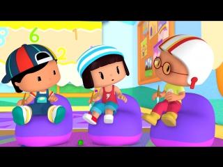 Развивающие мультфильмы для детей от 3 лет - Пеппе - 11 серия - Стричь ногти - это важно