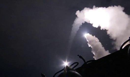 Корабли РФ в Каспии выпустили по позициям ИГ в Сирии 18 крылатых ракет