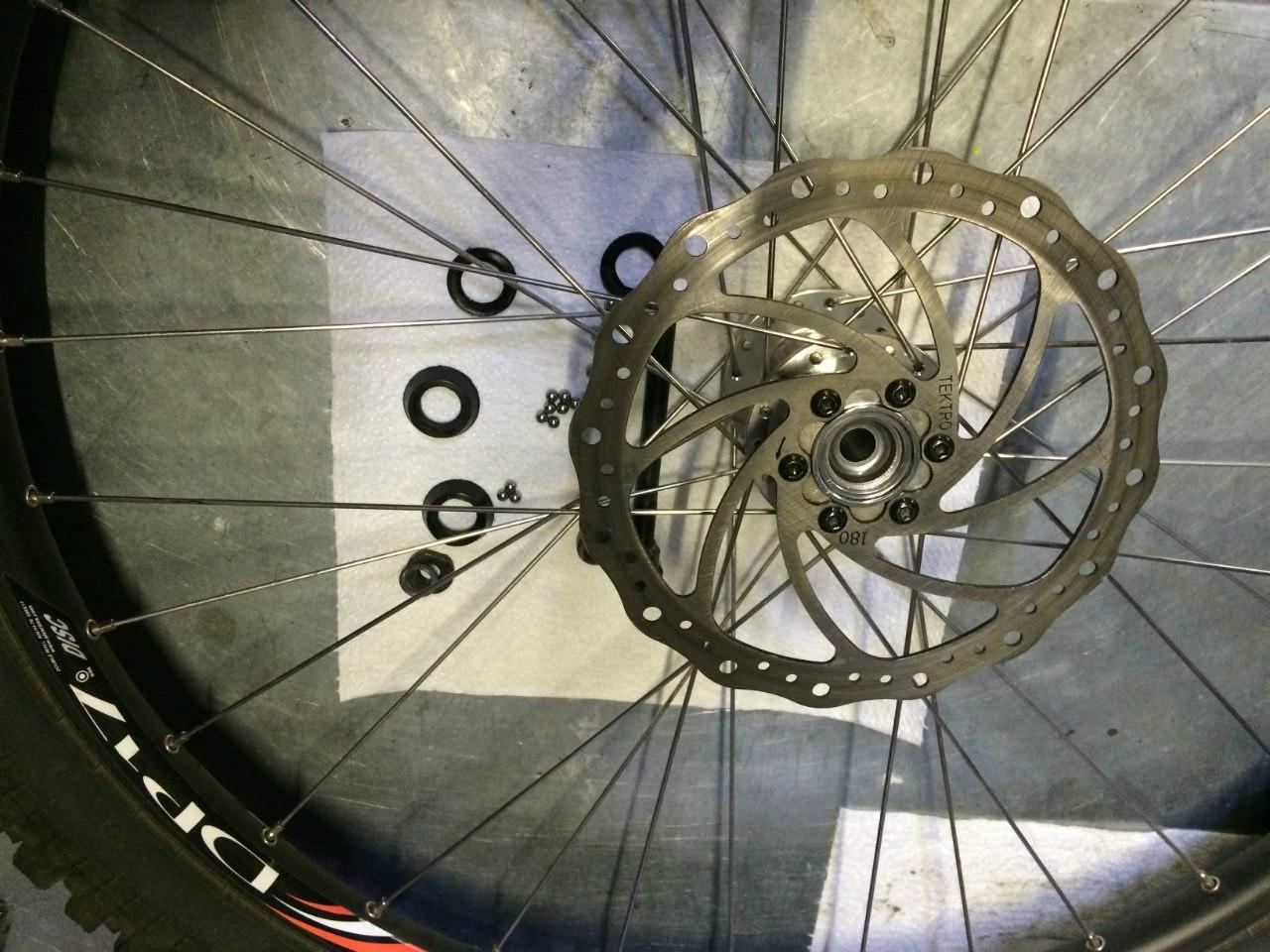 Втулка колеса Merida Matts