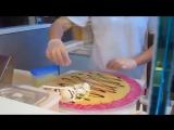 Как подают мороженое в Японии. Классно! Я тоже такое хочу :)