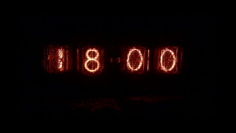 Часы на газоразрядных индикаторах ИН-12А