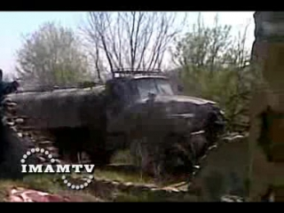 21 апреля 2009 г. Чечня, Бамут. Съемки боевиков. www.warchechnya.ru