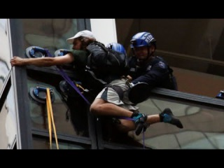 Trump Tower Climber Grabbed by Police