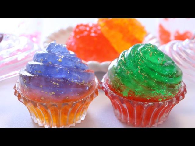 Lakomkavk Edible Orbeez Gummy Cupcake