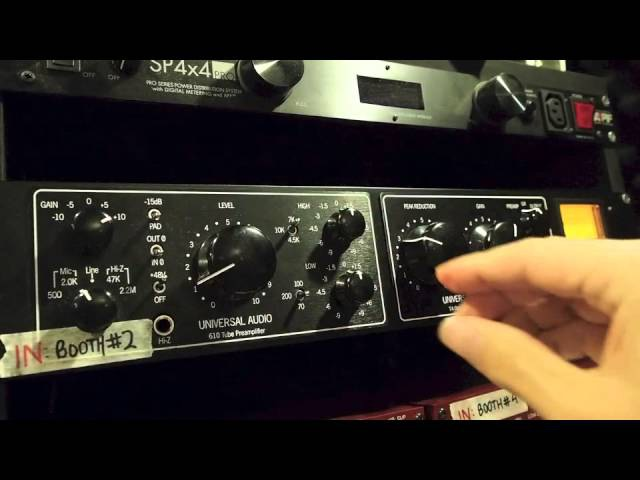Universal Audio LA610 mkii Demo