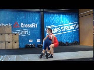 Anastasiya Olympic Woman Wrestling Skill & Fitness Presentation