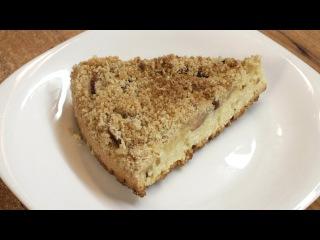 Яблочный пирог с присыпкой / How to make Streusel apple pie ♡ English subtitles