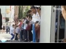 Cristiano Ronaldo ignora criança e ela desata a chorar