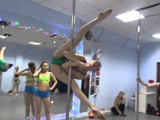 NOVA pole dance/ Нова танцы на пилоне Чебоксары/Новочебоксарск/инструктор Ксения,обучающее видео