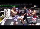 Thai martial fight, Asian super battle knockout, Reya Vs Seab, Lumpinee 16 Apr 16