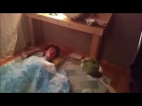 Как разбудить друга, лайфхак)))
