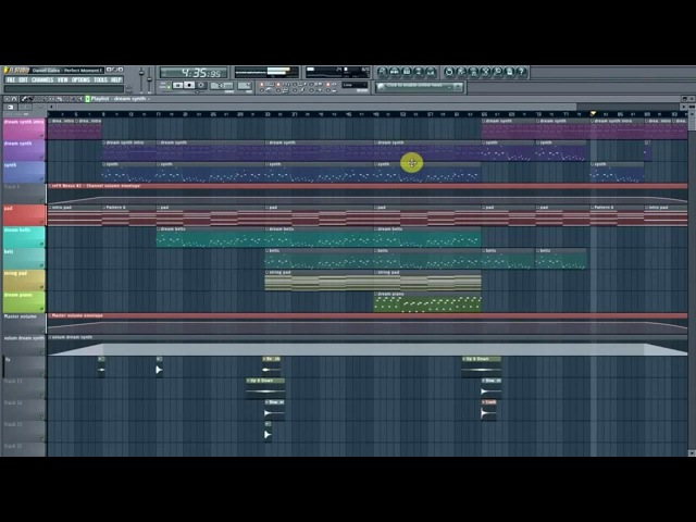 Ambiental music made in FL Studio 11 by Daniel Galea Perfect Moment