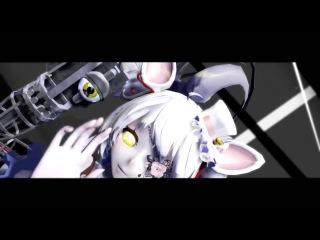 Monster [MMD] Мангл и Фокси