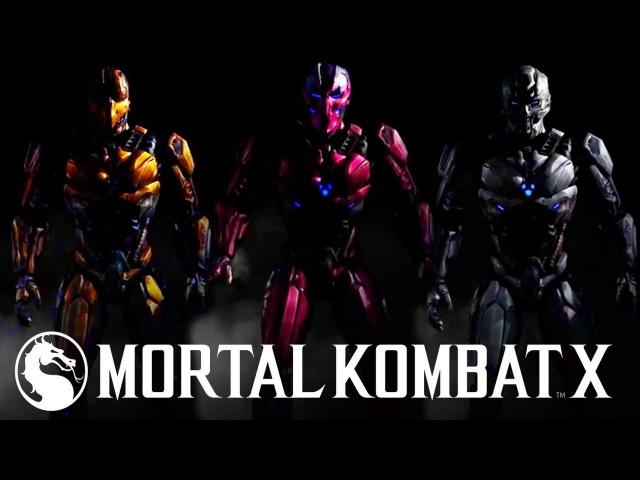 Mortal Kombat X Triborg Gameplay Fatality Sektor, Cyrax and Smoke Kombat Pack 2 Fatalities