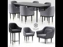 Моделинг стульев, стола и кресла в 3d max