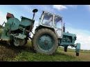 Трактор ЮМЗ з картоплесаджалкою.GoPro