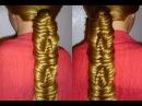 Косичка Рыбий хвост.Причёска для длинных волос.Плетение кос/волос.Красивая прич...