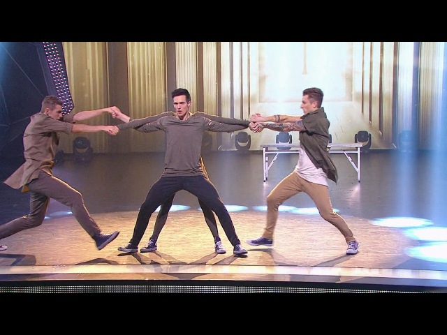 Танцы: Никита Орлов, Ваня Можайкин, Макс Нестерович и Юля Николаева (сезон 2, серия 20)
