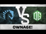 Ownage! by Team Liquid vs OG The Defense #5 - Final