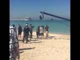 [Фанкам] 160221 Съемки Running Man в Дубай