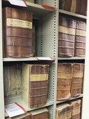 В хранилище архива