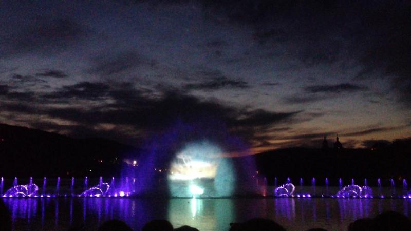 Поющий фонтан в Абрау-Дюрсо ♥