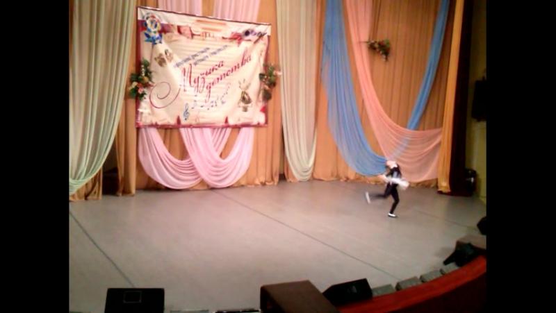 Михайличенко Елена, танец «Кошка», обр. студия «Росинка», Золотая горошина, городской этап