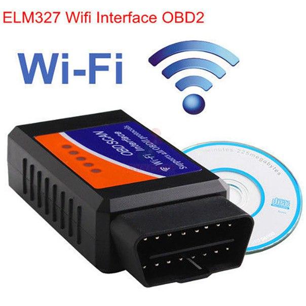 Elm 327 wst WiFi - универсальный мультисканер для диагностики всех марок автомобилей