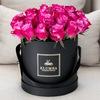"""KLUMBA-Цветы в коробках, """"Роза в Колбе"""""""