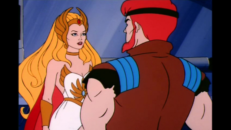 Непобедимая принцесса Ши-Ра (She-Ra: Princess of Power) - 07 - Морской Ястреб [Алексей Михалёв]