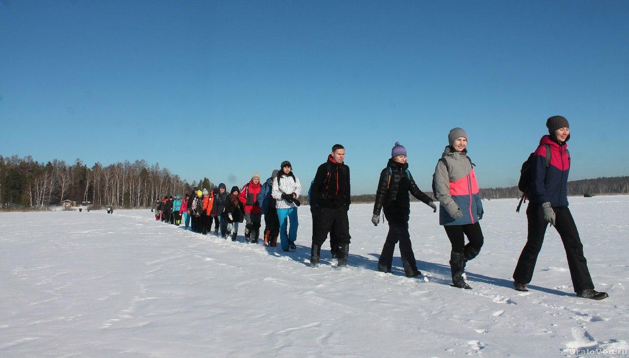 Ураловеды на Шайтанском озере
