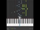 Naruto - Shippuuden - Heros come back ( opening 1 ) Piano Tutorial