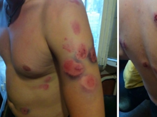 Пейнтбольный расстрел ночных бухариков - Ночное сафари на местных алкашей