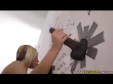 YouPorn -  PublicAgent Kate England gets creampied by black cocks at gloryhole