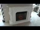 камин № 2 роскошный электрокамин из гипсокартона весь монтаж Fireplace design