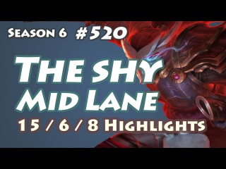The shy - Yasuo vs Twisted Fate - KR LOL SoloQ Highlights