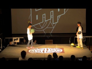 bac to pec 2015 KidsBattle#3 SemiFinal1 YOH vs KOHEI