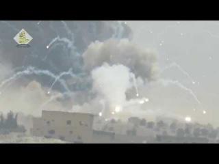 الثوار يدمرون راجمة صواريخ للنظام بصاروخ &#16