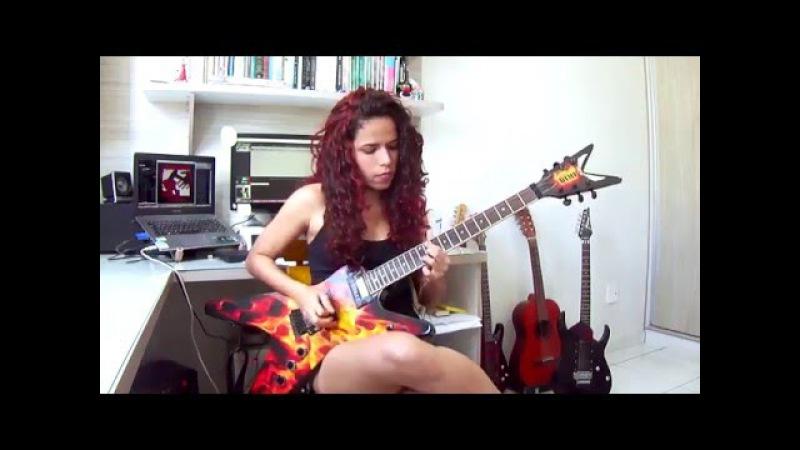 Metallica The Four Horsemen Guitar Cover w Solos Noelle dos Anjos
