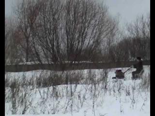 САМ снегоходная приставка 2013