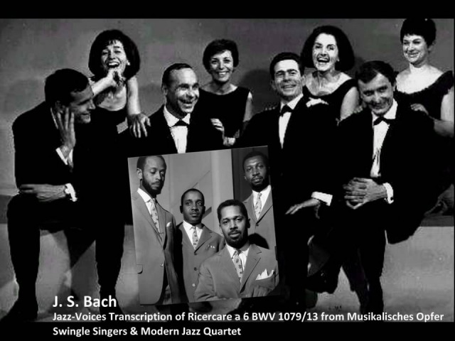 J. S. Bach - Ricercare a 6 from Musikalisches Opfer BWV 1079 - Jazz-Voices transcription