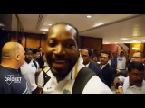 FUNNY! Watch West Indies DANCE and celebrate their semi win -DJ BRAVO and SAMMY cricket