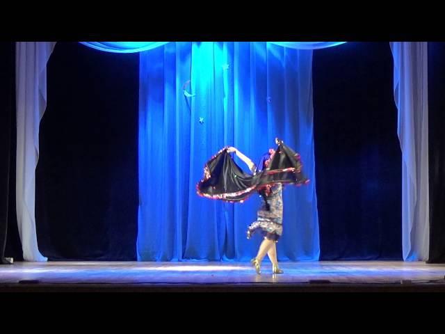 Светлана Шмакова.Эскандарани. Студия Арабского танца Байсан (г.Тамбов)