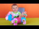 Развивающая игрушка для самых маленьких - Щенок Тини Лав. Обзоры игрушек от Даника. Tiny Love toys