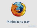 Обучающий курс по лучшим расширениям для Mozilla Firefox® - Minimize to tray