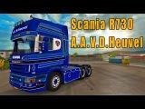 ETS2 Scania R730 A.A.V.D.Heuvel truck mod