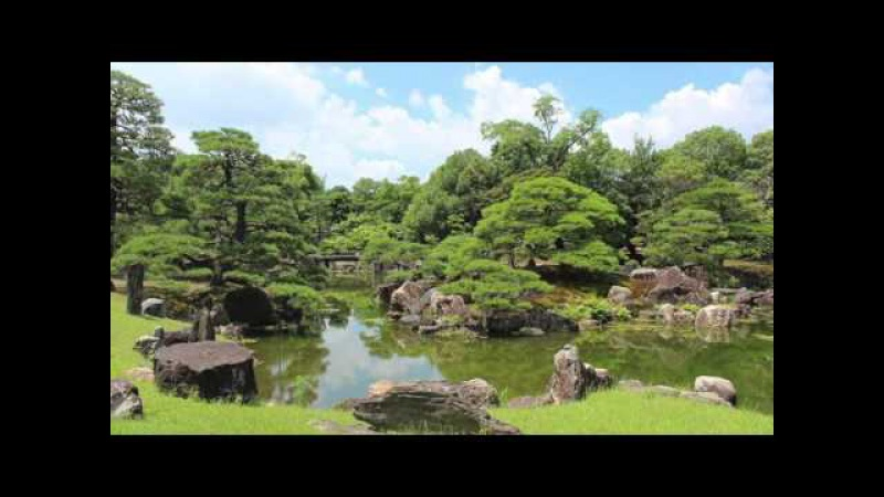 【(Kyoto in Japan)京都100名庭】二条城(Nijo-jo) [100 elections of Kyoto great garden]
